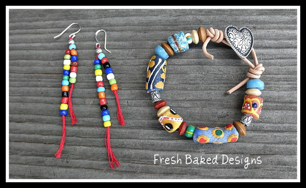 Ghana Beads Fresh Baked Designs