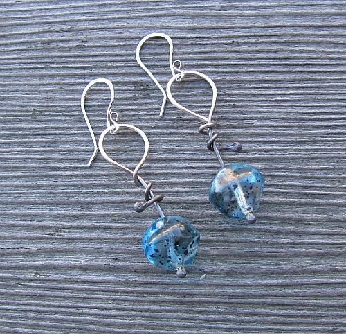 pin wrap blue
