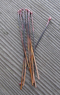 copper head pins