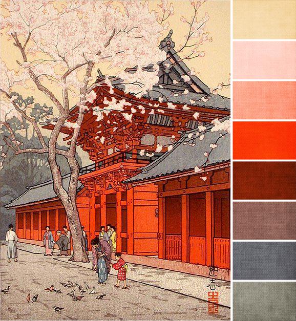 feb 2013 - heijinja by toshi yoshida palette