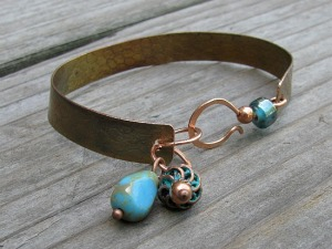 copper hook cuff