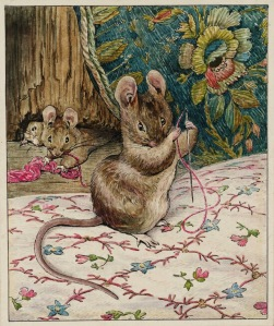 beatrixpotter-miceatwork-threading the needle