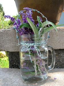 hanging flower vase