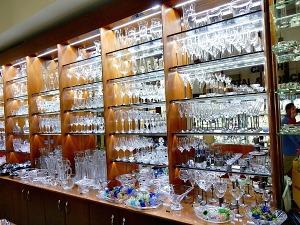 Prague glass store