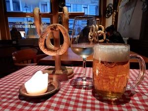 Pretzels, Beer, and Wine