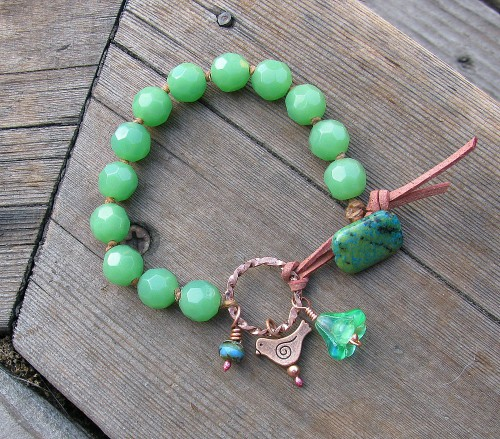 greencopper bracelet
