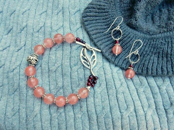 bracelet on gray