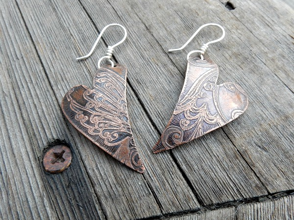 copper hearts