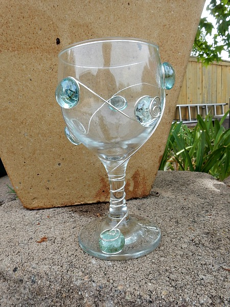 beaded wine glass 2