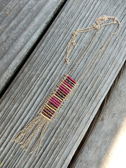 seed bead ladder 3