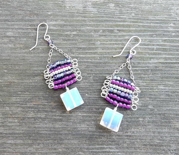 ladder earrings