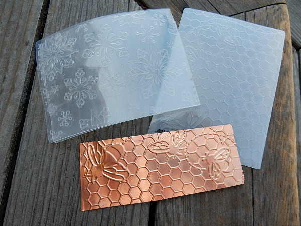 embossing copper