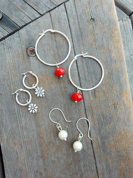 vacation earrings