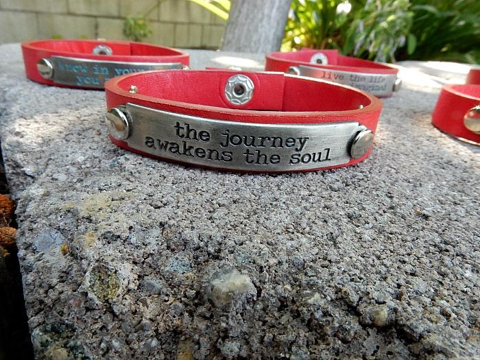 Red bracelets 3