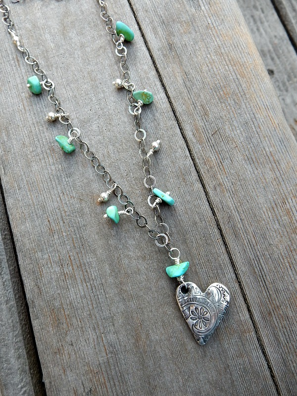 turquoise heart PMC